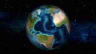 Earth Zoom In - Puerto Rico - San Juan