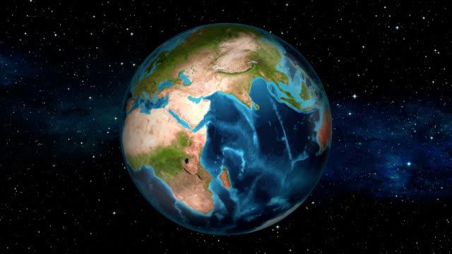 Earth Zoom In - South Sudan - Juba