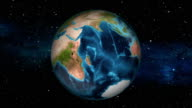 Earth Zoom In - Zimbabwe - Harare