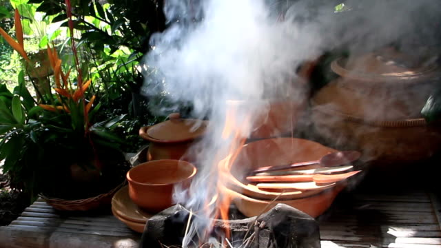 Steingut-Küche