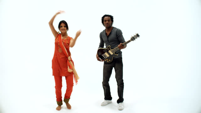 East meets West, India dance and Rocker