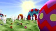 Conigli di Pasqua e le uova