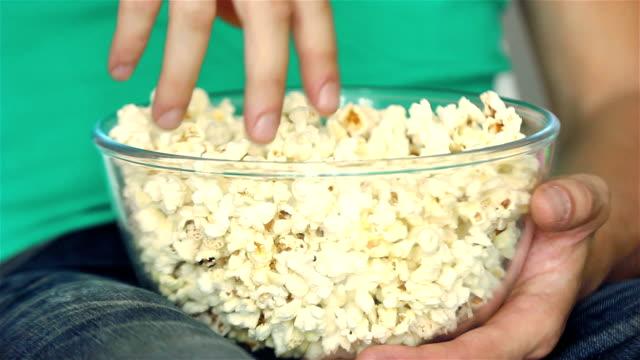 Eating Popcorn