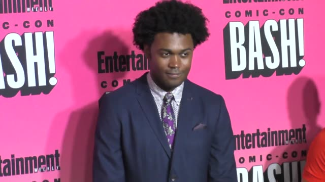 Echo Kellum at Entertainment Weekly Hosts Annual ComicCon Celebration at Float at Hard Rock Hotel San Diego on July 23 2016 in San Diego California