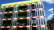 Ecological sustainable green residence building