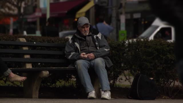 Economically Distress Man in Urban Setting - Multi