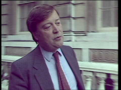 Autumn Financial Statement ENGLAND London Downing Street CMS Kenneth Clarke along TRACK LR along TRACK LR pauses as INTVW SOF'We've made our new real...