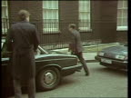 Autumn Financial Statement ENGLAND London Downing Street MS George Younger out of car PAN RL as into no 10 MS John Moore along chatting to man PAN RL