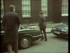 Autumn Financial Statement ENGLAND London Downing Street MS George Younger out of car PAN RL as into no 10 MS Paul Channon across road PAN RL as into...