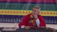 Ecuador's new president Lenin Moreno warned Julian Assange on Thursday not to interfere in the politics of the South American country whose embassy...