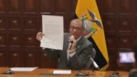 Ecuador's President Lenin Moreno on Thursday stripped his vice president Jorge Glas of all his functions after his deputy delivered a stinging...