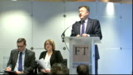 Ed Balls speech in inequality Balls speech SOT Nobody predicted Global financial crisis underestimated how powerful and challenging the movement of...