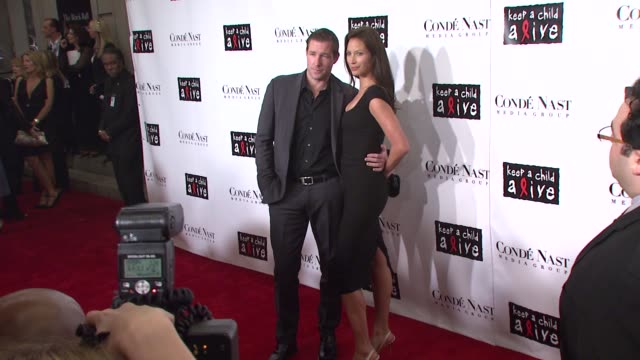 Ed Burns and Christy Turlington at the Conde Nast Media Group Presents the 4th Annual 'Black Ball' Concert for 'Keep A Child Alive' arrivals at the...