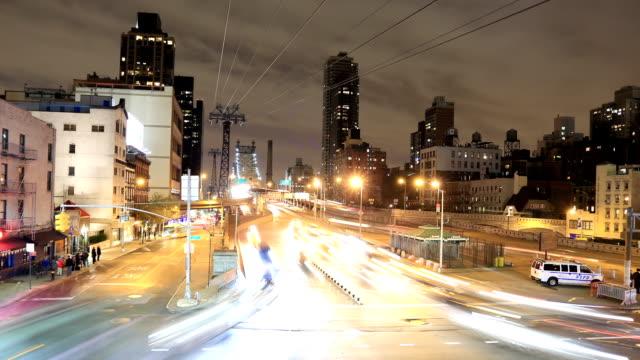 Ed Koch Queensboro Bridge Traffic time lapse