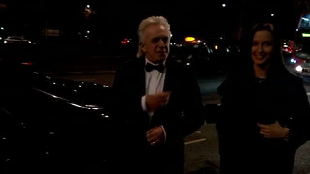 Ed Miliband announces apprenticeships plan in business speech 922015 Peter Stringfellow and guest arriving at Conservative Party Black and White...