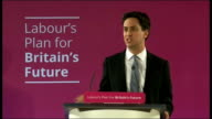 Ed Miliband speech and question and answer session in Salford And we will show in the coming months that it doesn't need to be this way Our plan is...