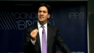 Ed Miliband speech And to properly reward hard work and effort we need contribution to be at the heart of our welfare system too We talk about the...