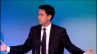 Ed Miliband speech at TUC conference Ed Miliband speech continued SOT Let me end with this thought I know what a tough time many of your members are...