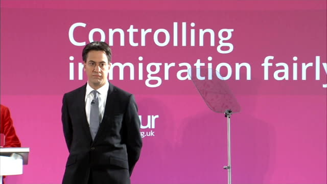 Norfolk Great Yarmouth INT Ed Miliband into room and onto stage to applause / Introduction SOT / Ed Miliband MP speech SOT It is great to be here in...