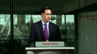 Ed Miliband speech on NHS and social care Ed Miliband MP QA session SOT has your wedding changed your views on marriage A marriage is good...