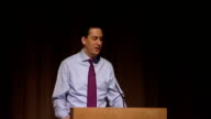 Ed Miliband speech to Fabian Society ENGLAND London INT Ed Miliband MP speech SOT We've just witnessed our first byelection of the Parliament in...