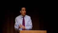 Ed Miliband speech to Fabian Society Ed Miliband speech continued SOT One example I would give is the living wage Why is the living wage such a...