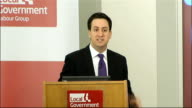 Ed Miliband speech to Labour's Local Government Group Ed Miliband speech SOT The second myth is the idea that somehow it is the fault of local...