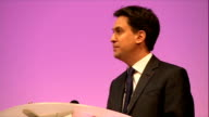 Ed Miliband speech to the Labour Local Government Conference in Nottingham ENGLAND Nottingham INT Ed Miliband MP speech SOT check against delivery**...