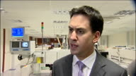 Ed Miliband visits electronics firm Tioga Ed Miliband MP interview SOT Well I think the problem for Britain is that we have a weak Prime Minister /...