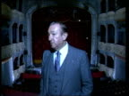 REOPENING Ed Mirvish interview SOT