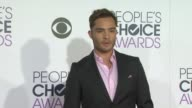 Ed Westwick at the People's Choice Awards 2016 at Nokia Plaza LA LIVE on January 6 2016 in Los Angeles California