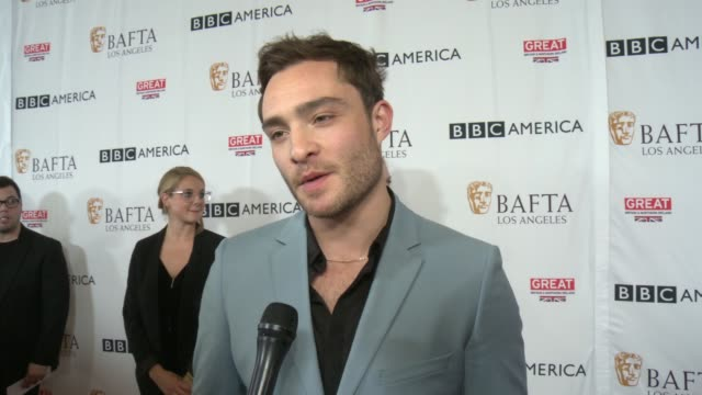 INTERVIEW Ed Westwick on BAFTA on the TV Tea Party on the continuing popularity of Gossip Girl at BAFTA LOS ANGELES BBC AMERICA TV TEA PARTY 2017 in...