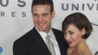 Eddie McClintock Allison Scagliotti at the NBC Universal 67th Annual Golden Globe Awards AfterParty at Beverly Hills CA