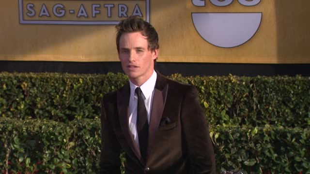 Eddie Redmayne at 19th Annual Screen Actors Guild Awards Arrivals 1/27/2013 in Los Angeles CA