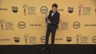 Eddie Redmayne at 21st Annual Screen Actors Guild Awards Photo Room in Los Angeles CA
