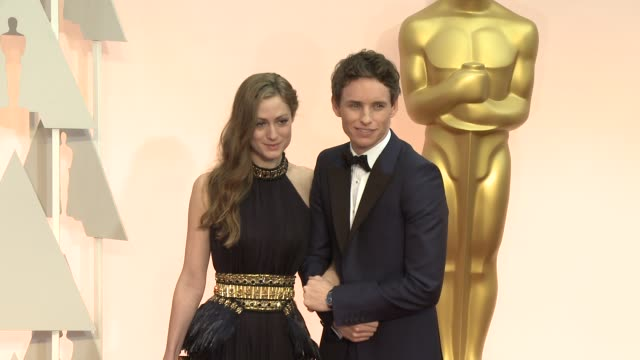 Eddie Redmayne at the 87th Annual Academy Awards Arrivals at Dolby Theatre on February 22 2015 in Hollywood California