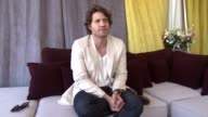 Edgar Ramirez on the feeling of losing your freedom and how it had a profound impact on him at the Carlos Interview Cannes Film Festival 2010 at...