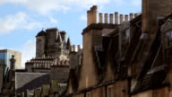 Edinburgh City Centre skyline with modern and traditional architecture