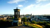 Edinburgh, Scotland, UK time lapse
