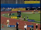 Edith Masai accelerates away from field to win Women's 5000m 2003 International Athletics Grand Prix Crystal Palace London