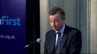 Education Secretary Michael Gove outlines education reforms These results are now being replicated by the small group of schools that were turned...