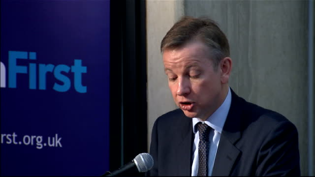 Education Secretary Michael Gove outlines education reforms And the effect of good teaching isn't ephemeral but cumulative with students exposed to...