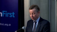 Education Secretary Michael Gove outlines education reforms For disadvantaged pupils a gap opens even before primary school Leon Feinstein's...
