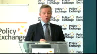 Education Secretary speech on Free Schools Michael Gove MP speech SOT We are constantly reviewing and refining the programme to help get highquality...