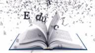Education. White version.