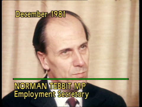 Youth Training Scheme CS NORMAN TEBBIT interview SOF 'I'm offering them of that allowance'