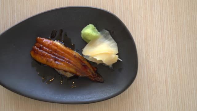 Eel sushi rice - japanese food
