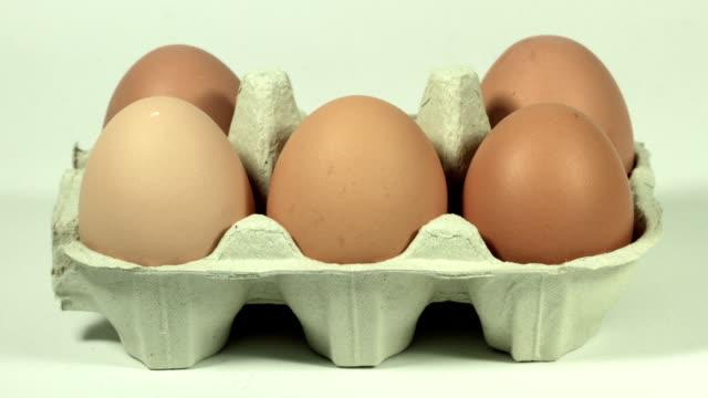 Eggs in Carton, HD