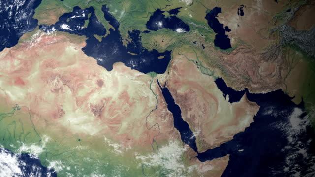 Αποτέλεσμα εικόνας για middle east map from space