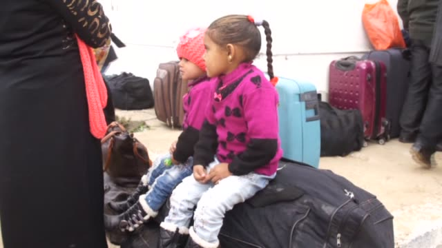 Egyptian authorities reopen the Rafah crossing for two days in both directions to allow stranded Palestinians to cross into the blockaded enclave in...